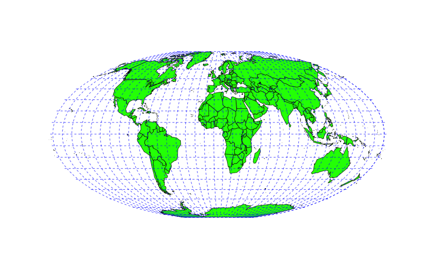 Map projections thinkinator world map carlos a furuti has an excellent website with many projections and clear explanations of the tradeoffs of each the main projection page has gumiabroncs Images
